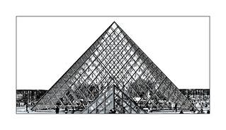 Série Pyramide du Louvre : N° 18