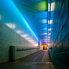 At the end of the tunnel ([J Z A] Photography) Tags: apograndagon35mm arcbody bfiimax ccd concrete hasselblad imax infrastructure jzaphotography lambeth london londonborough mfd mediumformat mediumformatdigital phaseonep25 rodenstock uk underpass