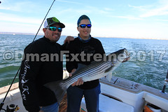 First Catch of the Day (DmanExtreme) Tags: reelmaxlife reel reelmax dman dmanextreme extreme jersey penn linecutterz line cutterz captain mike key fishing charters bass tog black fish boat viking