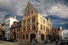 Architecture Bruges - 4202 (ΨᗩSᗰIᘉᗴ HᗴᘉS +22 000 000 thx) Tags: architecture bruges flandres belgium belgique europa europe eu be bel fr aa sky clouds hensyasmine yasminehens city cityscape