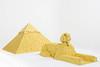The Great Pyramid at Giza and Sphinx 1 (Adolfo LUG Brasil) Tags: lego giza pyramid egypt sphinx