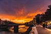 Verona Sunset (Ákos Fekete) Tags: verona italy europe city sky sunset red clouds cloudaddictsanonymous cloudsstormssunsetssunrises sunsetclouds town winter december burningsky sony sonyalpha6000 alpha a6000 ilce6000 ilce emount selp1650 mirrorless milc csc evil powerzoom 2017 weather beautiful beautifulcapture mbpictures river bridge lights thegalaxy