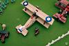 Lego Sopwith Camel (Dread Pirate Wesley) Tags: lego moc aviation aircraft airplane biplane sopwith camel raf rfc world war one ww1 wwi great british aerodrome airdrome airport airfield