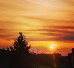 Good Sunday morning world! (Edale614) Tags: columbus ohio sunrise naturelovers nature colorful colorfest