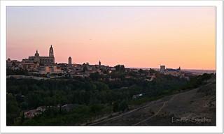 Segovia al atardecer