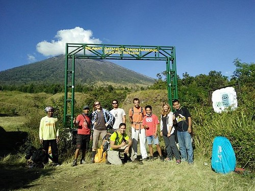 Hiking and Trekking Mount Rinjani Lombok