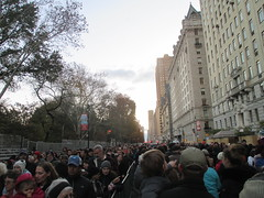 Pre - Parade Macys Balloons - Thanksgiving Eve Viewing Queue Line 2017 NYC 3763 (Brechtbug) Tags: macys thanksgiving eve parade 2017 balloon blowup inflation joint nyc queue line see balloons near natural history museum central park west 11222017 helium new character holiday york city christmas ornament blowing up inflating logo blowout blow out