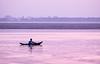 Varanasi sunrise (Wanda Amos@Old Bar) Tags: ganges india varanasi wandaamos boat boatman river sunrise