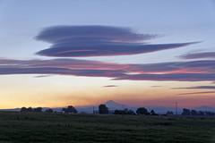 Cloudy curiosity (flurryofsmoke) Tags: cloud sunset mounthood colors countryside culver oregon usa hdr