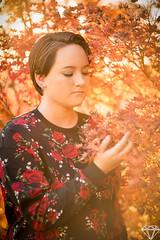 6D5A7005 copy (Adam Diamond Photography) Tags: fall sunset golden hour leaves orange beauty fashion portrait headshot canon photography photoshoot vimsical fantasy