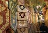 Persian Carpets & Rugs - Grand Bazaar Tehran Iran (WanderingPhotosPJB) Tags: iran tehran grandbazaar market rugs carpets cloth pattern islamicrepublic islam
