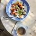 Breakfast in Andros, Greece