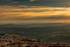 Hills and Moors Aug 28th 2017  (29)-Edit (Mark Schofield @ JB Schofield) Tags: sunset sunrise moors moorland agriculture meltham huddersfield yorkshire landscape canon eos 5dmk4 emley mast harden moss pennines hills fields farmland westnab heather august
