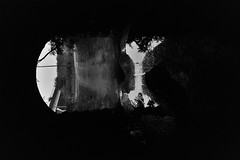 (allegory of the eye) (William Keckler) Tags: stars floor tunnel film 35mm analog lomo lomography darkness