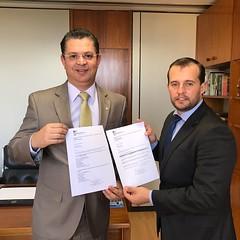 prefeito de Paty do Alferes-RJ Juninho Bernardes