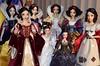 All Six Snow White LE Dolls on My Desktop - 2017-11-07 - View #1 (drj1828) Tags: snowwhiteandthesevendwarfs disneystore disneyparks limitededition 17inch onceuponatime 12inch snowwhite evilqueen saksfifthavenue groupphoto