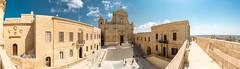 "Citadel of Ir-Rabat - cathedral ""Il-Katidral ta' Għawdex"" - Gozo (vlapoulle) Tags: citadel citadelle basilique basilica église church limestone panorama irrabat gozo malte castello malta"