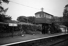 Signal Boxes 14 (Milepost 67) Tags: ireland countywicklow gorey goreyrailwaystation railway railways irishrailways irishrail iarnrodeireann signalbox signalboxes goreysignalbox
