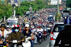 Vietnam-Ho Chi Minh City. (roxykon) Tags: vietnam indochina seasia hochiminhcity people streetphotography pentaxk5 tamron18250mm