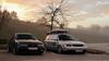 Calibra & Passat (JanochAbel Automotive) Tags: car carmeet fog dawn opel calibra vw vvolkswagen passat tuning low stance