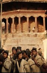 Mountain people, Kathmandu, Nepal 1976 (knjy) Tags: nikonf agfachrome50s katmandu nepal 1976 80200mm nikkor zoom