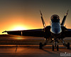 Blue Angel at Sunset (AndySmo) Tags: navy allianceairport allianceairshow sunset aviation f18 jet military blueangles airshow fortworthtx hdr fortworth texas unitedstates us