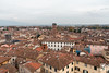 Lucca dalla Torre delle Ore (andrea.prave) Tags: lucca tuscany toscana toscane toskana トスカーナ тоскана توسكانا 托斯卡纳 italia italy イタリア איטליה 意大利 италия إيطاليا italie italien torredellora clock ora orologio torre tower panorama torredelleore city città ciudad ville stadt シティ город مدينة 市 by mura