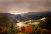 When the valley awakens (Photogioco) Tags: valley sunrises rayes valle risveglio raggi sole mattino morning autumnalatmosphere autunno panorama view photo fotografia landscape