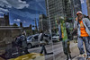 15th Street, 2017 (Alan Barr) Tags: philadelphia 2017 15thstreet reflection mirrorimage mirror street sp streetphotography streetphoto color city candid people ricoh gr
