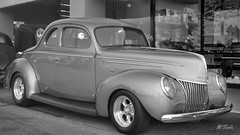 1939 Ford Deluxe Coupe (Pat Durkin OC) Tags: 1939ford deluxe coupe hotrod streetrod red
