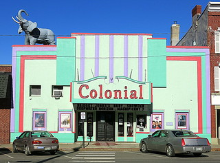 The Colonial Theatre, Belfast, Maine