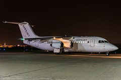 CityJet EI-RJD Night HAJ at Night (U. Heinze) Tags: aircraft airlines airways flugzeug haj hannoverlangenhagenairporthaj planespotting plane eddv nikon
