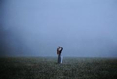 This Solitude (.everlasting) Tags: fog wind girl film meadow melancholy solitude 35mm analogue mist feverdreams everlasting hadararielmagar