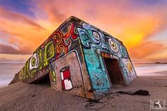 Bunker of Trévignon (stephanegachet) Tags: france bretagne finistère finistere trevignon bunker war sea seascape landscape paysage murdelatlantique stephanegachet gachet