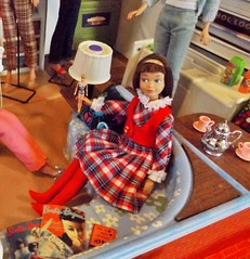 MY CHRISTMAS PRESENT TO MYSELF (ModBarbieLover) Tags: 1965 barbie ken skooter skipper americangirl doll fashion deluxe house dream midge casuals knitwear plaid titian closet kitchen livingroom ricky vintage