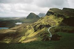 Scotland Adventures ! (Hëllø i'm Wild) Tags: analog film 35mm canonae1 scotland scotlandadventures travel trip nature hike outdoor adventures kodakportra400 quiraing sunshine mountains