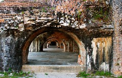 Ft. Pickens, Gulf Islands National Seashore / Pensacola Florida (msimpson5) Tags: usa texture history beach old arches brick building historical fort eos canon pensacola gulfislandsnationalseashore florida