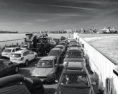 IMG_1846 Edit 1 composite (Dan Correia) Tags: capecod ocean harbor clouds boat ferry car truck photoshop 15fav topv111