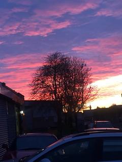 Sky over deepdale
