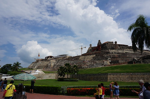 "Castillo San Felipe de Barajas • <a style=""font-size:0.8em;"" href=""http://www.flickr.com/photos/28558260@N04/27040160829/"" target=""_blank"">View on Flickr</a>"