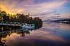 Stillness On Loch Lomond (Half A Century Of Photography) Tags: lochlomond argyll argyllshire water reflection sky sunset pentaxkr pentax pentaxdal