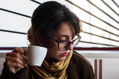 Coffee Break (Miguel.Galvão) Tags: tasco delta café coffee alentejo portugal évora campo vida rural country life canon 5d galvão miguel portrait suzi girl break pausa full frame 50mm stm