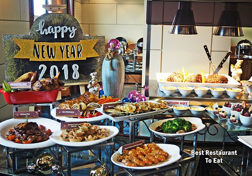 New Year Eve Dinner Buffet at Club Lounge Grand Bluewave Hotel Shah Alam
