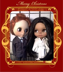 Flickr Advent Group; and Blythe-a-Day#12. Twelve Days of Christmas&#22. Kings & Queens or Rebellion&#19. Traditionally English: Meghan Markle and Prince Harry Wish Everyone Happy Holidays
