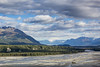 Matanuska River (Oleg S .) Tags: water mountains usa alaska river nature
