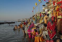 Ghats de Bénarès (BayaBxl) Tags: inde india bénarès ghats gange varanasi