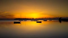 Quiet sunset - Stagnone di Marsala - Italy (explored) (I. Bellomo) Tags: stagnone birgi trapani sicilia sicily fujifilmxt2 sunset tramonto mare sea nationalgeographicgroup inexplore explored