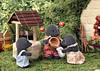 Sylvanian Families - The mole house (Sylvanako) Tags: toy toys sylvanian family families well dollhouse mole hill hobbit house garden nature water diorama crafting cute calico critters mushroom home