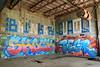 shock begr (Luna Park) Tags: detroit michigan abandonment graffiti lunapark shock begr rollers blinker guams