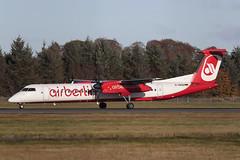 DHC-8-402 Dash 8 D-ABQD Air Berlin (Mark McEwan) Tags: dehavillandcanada dhc8402dash8 dash8 dhc8 dabqd airberlin edi edinburghairport edinburgh scotland aviation aircraft airplane airliner